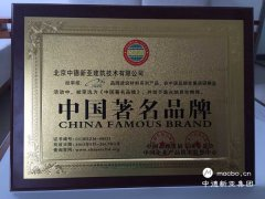 热烈祝贺中德新亚商标荣获中国著名品牌