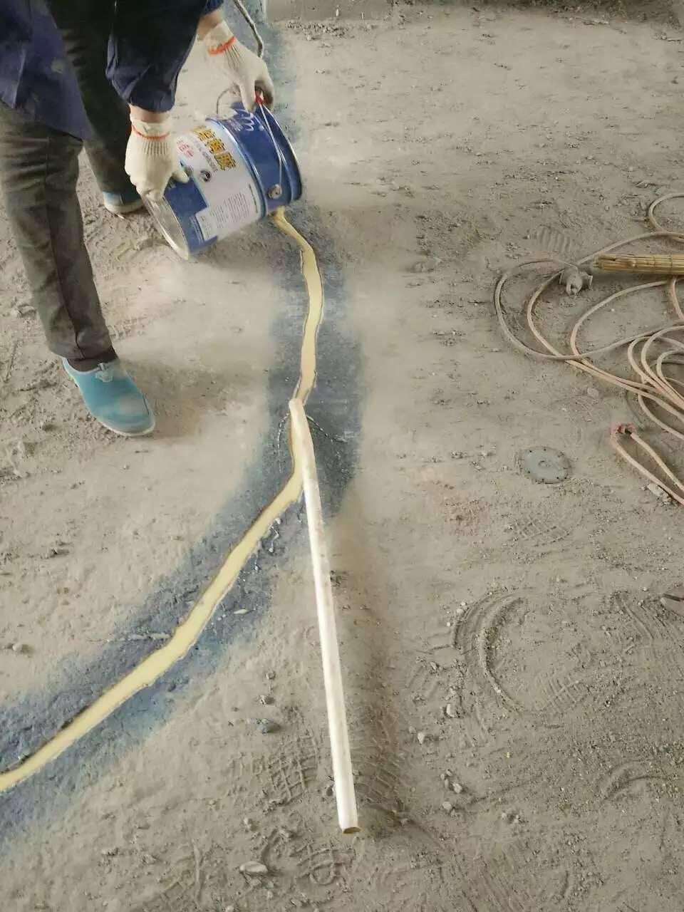 道路裂缝修补材料道路灌缝胶 路面贴缝带