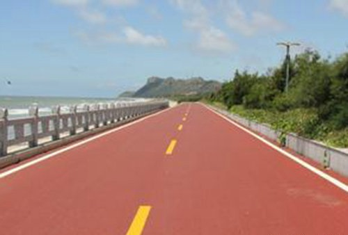 彩色沥青路面施工工艺