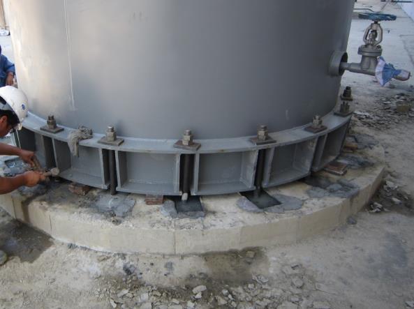 灌浆料施工中特殊部位施工方法