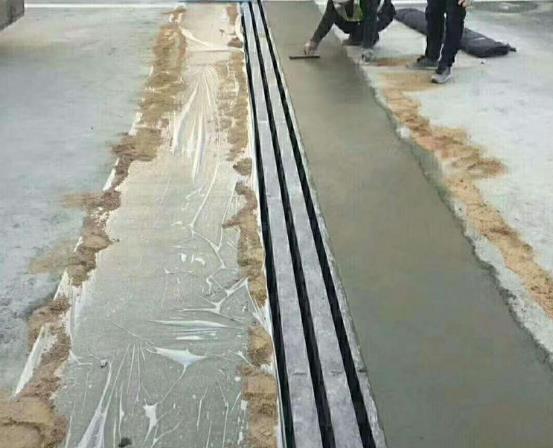 修补砂浆的实用性能