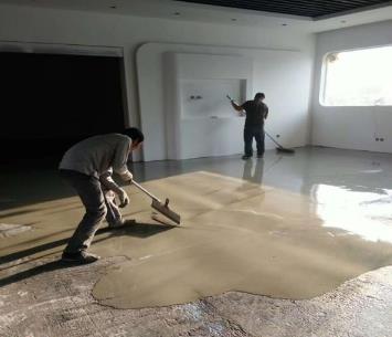 如何将水泥自流平做好看