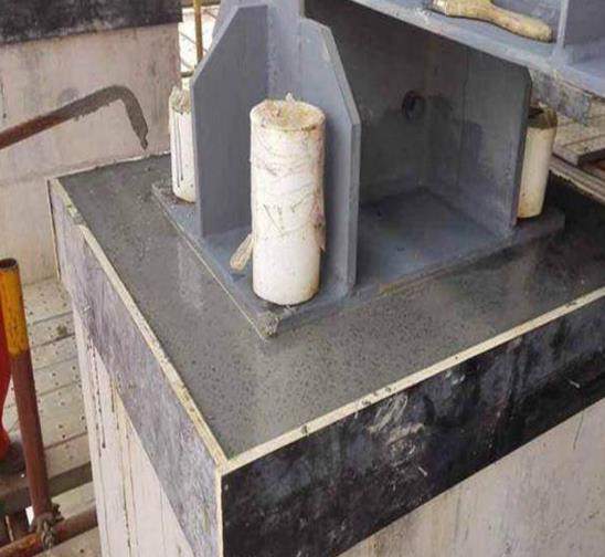 砂浆灌浆料路面裂缝的三个阶段